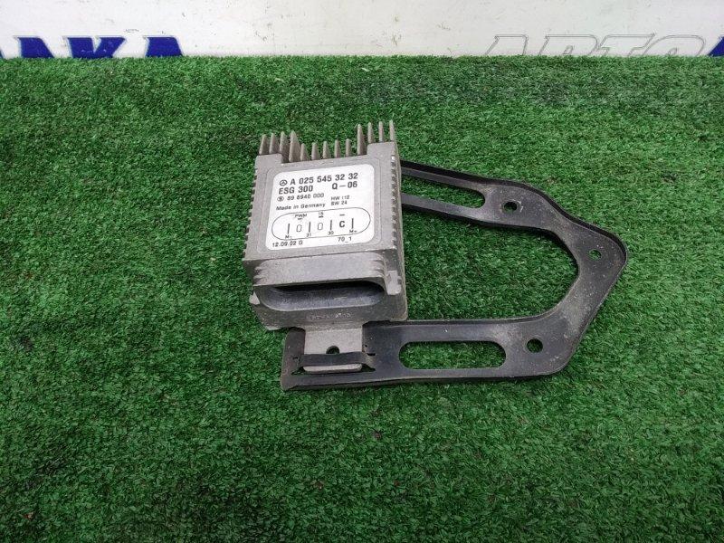 Блок управления вентилятором Mercedes-Benz A160 168.033 166.960 A0255453232 блок управления