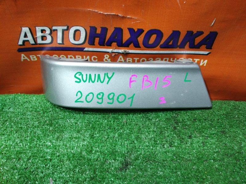 Планка под стоп Nissan Sunny FB15 QG15DE левая