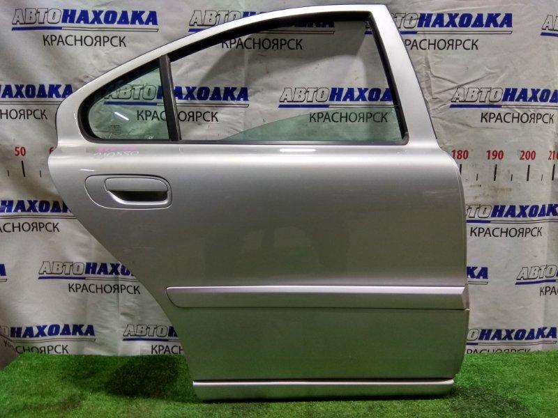 Дверь Volvo S60 P24 B5244S2 2004 задняя правая 30661233 RR в сборе. Есть пара царапин *
