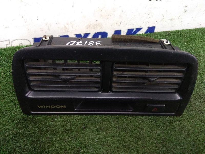 Консоль магнитофона Toyota Windom MCV20 (М50) верх центр консоли с двумя дефлекторами