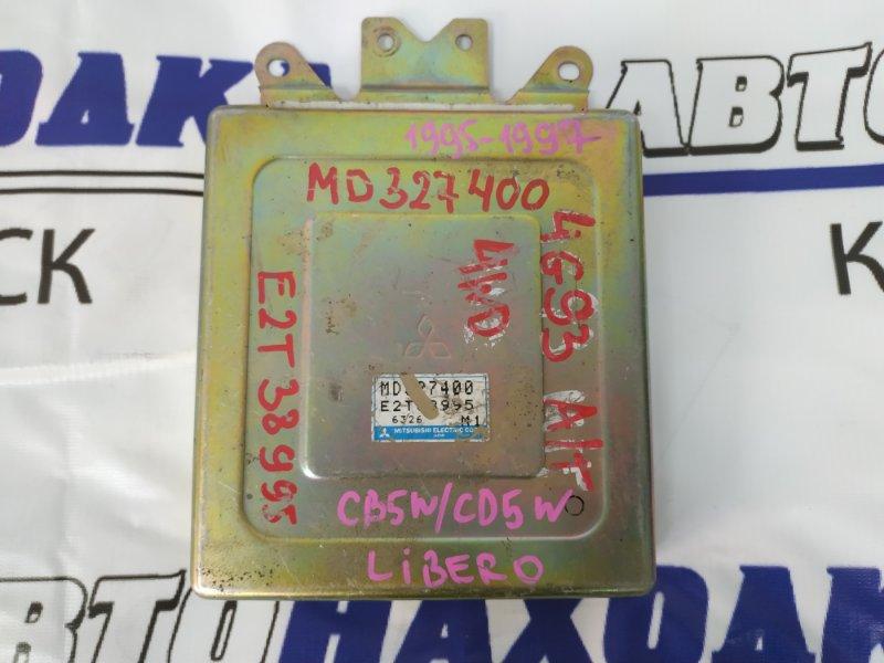 Компьютер Mitsubishi Libero CD5W 4G93 MD327400 E2T38995, MD327400, блок управления на ДВС