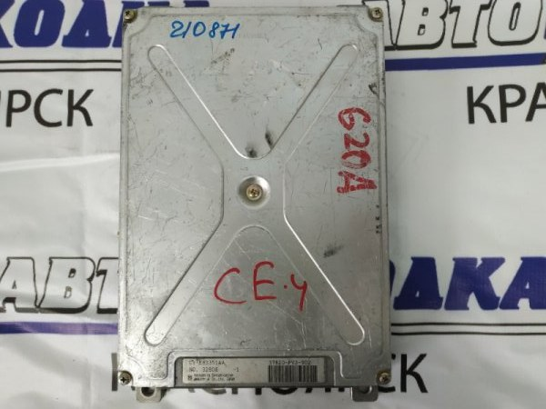 Компьютер Honda Ascot CE4 G20A 37820-PV3-902 Блок управления ДВС, 37820-PV3-902