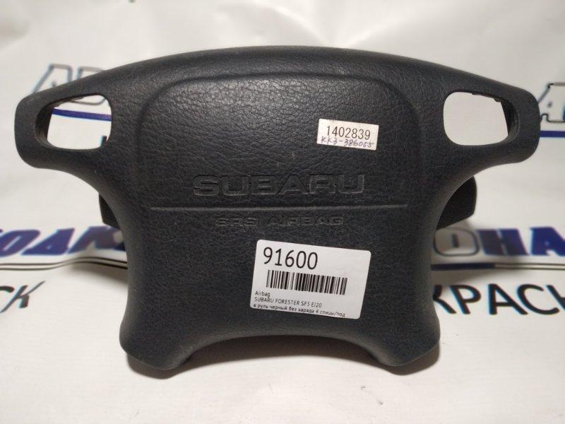 Airbag Subaru Vivio KK3 1992 в руль черный без заряда 4 спицы/под кнопки