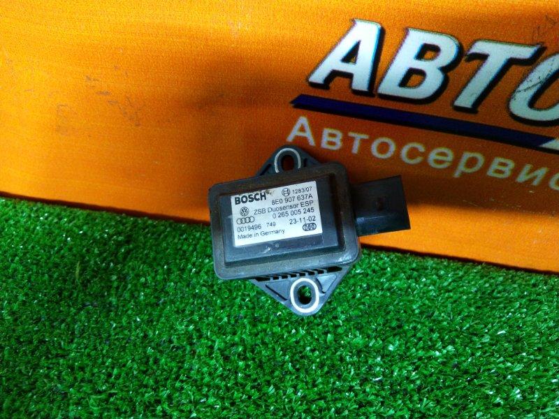 Датчик Audi A6 4B5 ASN 01.11.2003 8E0907637A КОМБИНИРОВАННЫЙ ДАТЧИК УСКОРЕНИЯ И УГЛА РЫСКАНИЯ,