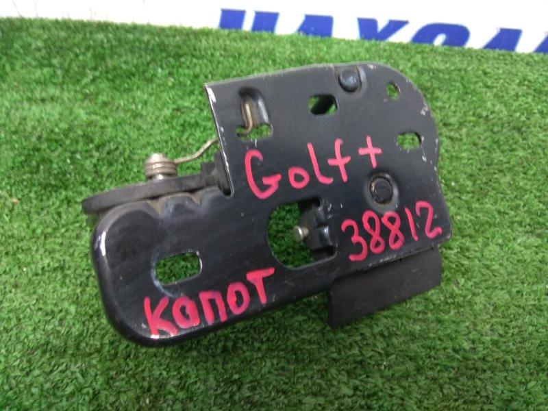 Петля капота Volkswagen Golf Plus 5M1 к74 петля с капота с ручкой его открывания и крючком