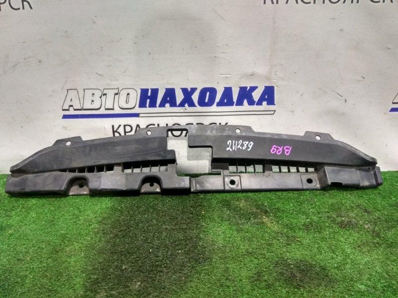 Накладка на телевизор Subaru Legacy BR9 EJ25 2009 91165AJ010 на рамку, где замок капота