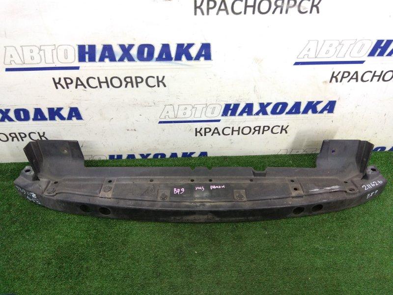 Усилитель бампера Subaru Legacy Outback BP9 EJ25 2003 передний нижний 57707AG080, 57707AG081 передний нижний,