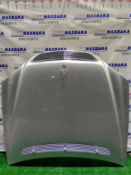 Капот Mercedes-Benz S430 220.070 113.941 2002 A2208800157 1 мод. (дорестайлинг) . С решеткой и значком.