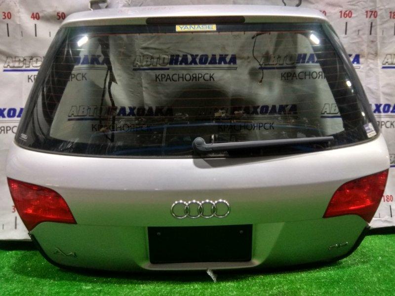 Дверь задняя Audi A4 B7 ALT 2004 задняя 8E9827023Q В сборе. ХТС. Цвет B5. Под квадратный номер.