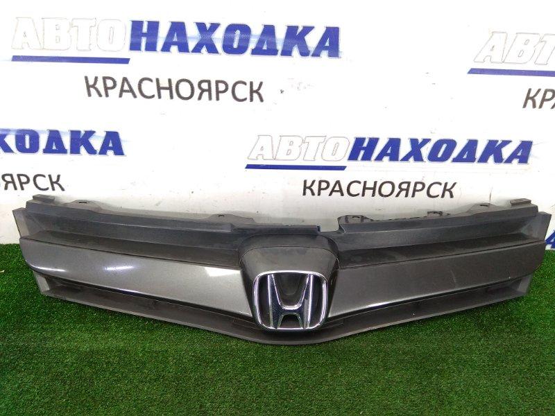 Решетка радиатора Honda Airwave GJ1 L15A 2005 71121-SLA-000-A1 серый, 1 модель, ХТС