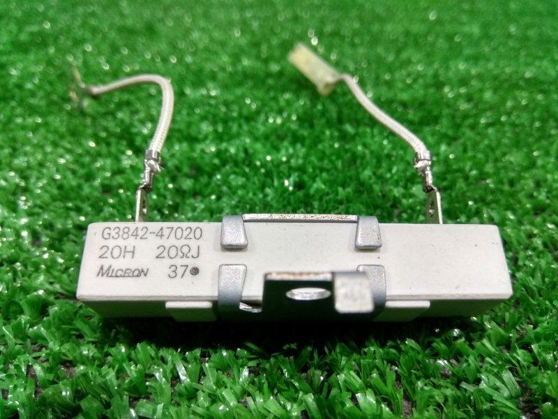 Реле Toyota Prius NHW20 1NZ-FXE 2003 G3842-47020 сопротивление (резистор) 20 Ом. С ВБ.
