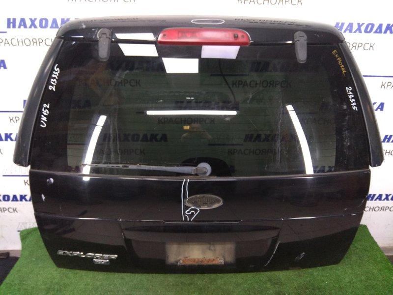 Дверь задняя Ford Explorer U152 COLOGNE V6 2001 задняя задняя, черная, 1 мод. (EBONY M6373) ,пластиковые