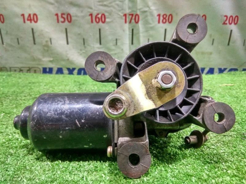 Мотор дворников Mitsubishi Pajero V44W 4D56-T 1991 передний MB623286 Передний моторчик, без трапеции.