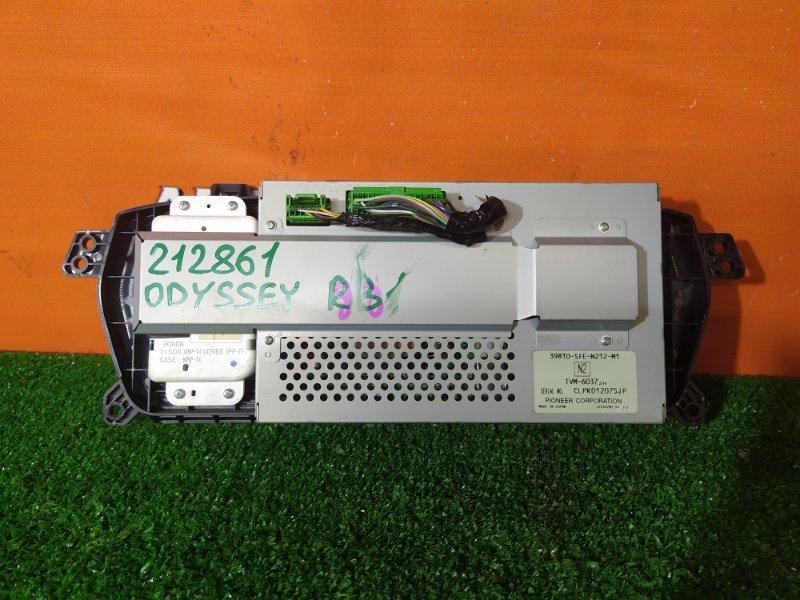 Монитор Honda Odyssey RB1 K24A 39810-SFE-N212-M1 НАВИГАЦИЯ