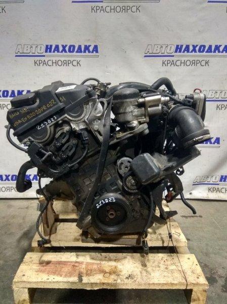 Двигатель Bmw 318I E46 N46 B20 2001 7516328 N46 B20 A № 7516328 2004 г.в. Пробег 88 т.км. 2Vanos. Без навесного.