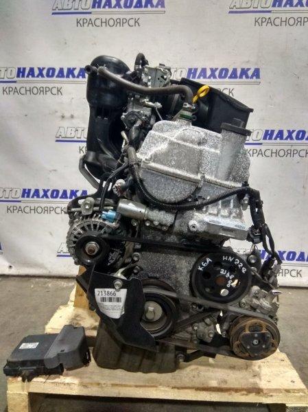 Двигатель Suzuki Kei HN22S K6A 2000 3808985 № 3808985 2 мод. Пробег 29 т.км.! 2006 г.в. VVT-I, ХТС. В сборе (всё,