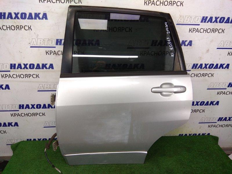 Дверь Suzuki Aerio RD51S M18A 2001 задняя левая RL в сборе, универсал