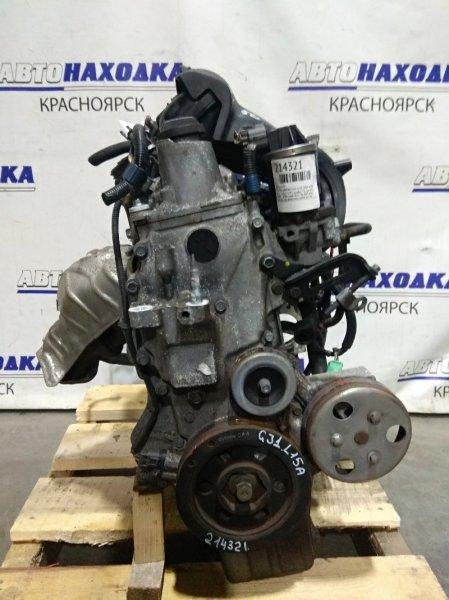 Двигатель Honda Airwave GJ1 L15A 2005 5111521 № 5111521 VTEC, пробег 72 т.км. ХТС. 2006 г.в. Без навесного. На
