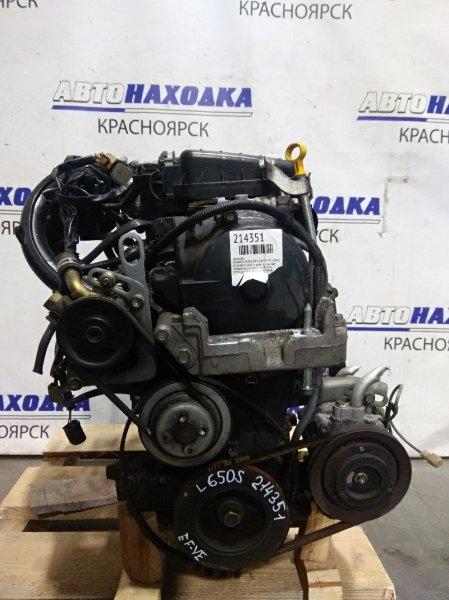 Двигатель Daihatsu Mira Gino L650S EF-VE 2004 9720672 EF-VE № 9720672 пробег 82 т.км. Без генератора и