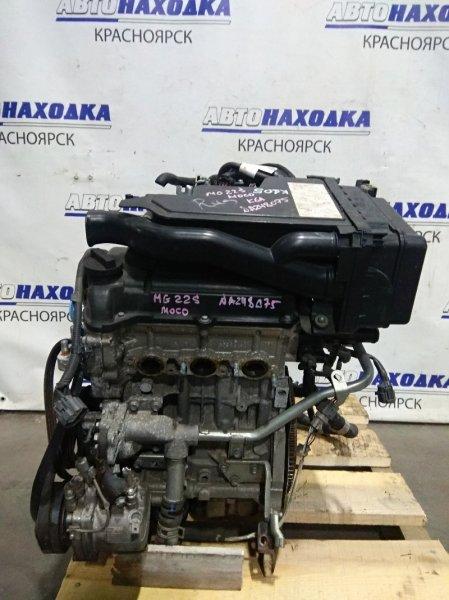 Двигатель Nissan Moco MG22S K6A 2006 A248075 № A248075 2010 г.в. Пробег 69 т.км. ХТС. В сборе (кроме