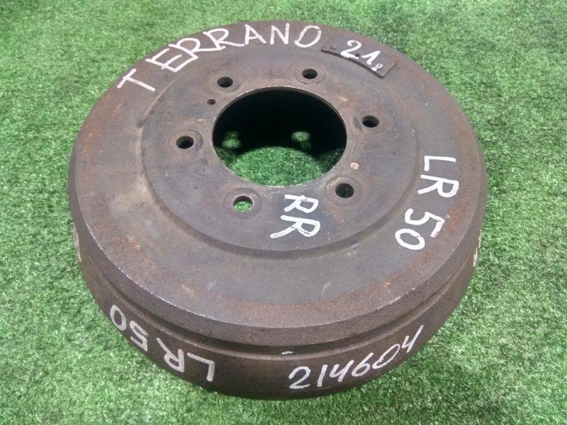 Барабан тормозной Nissan Terrano LR50 VG33E 1995 задний 6 шпилек, D=296