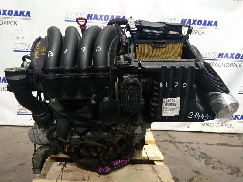 Двигатель Mercedes-Benz B170 245.232 266.940 2005 30440067 M266 E17 266.940 № 30440067 2007 г.в. В сборе. Пробег 113 т.км.
