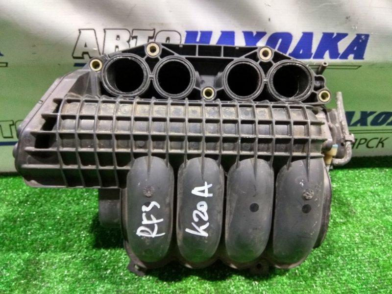 Коллектор впускной Honda Stepwgn RF3 K20A 17100-PNC-J0 снято/ впуск пластик