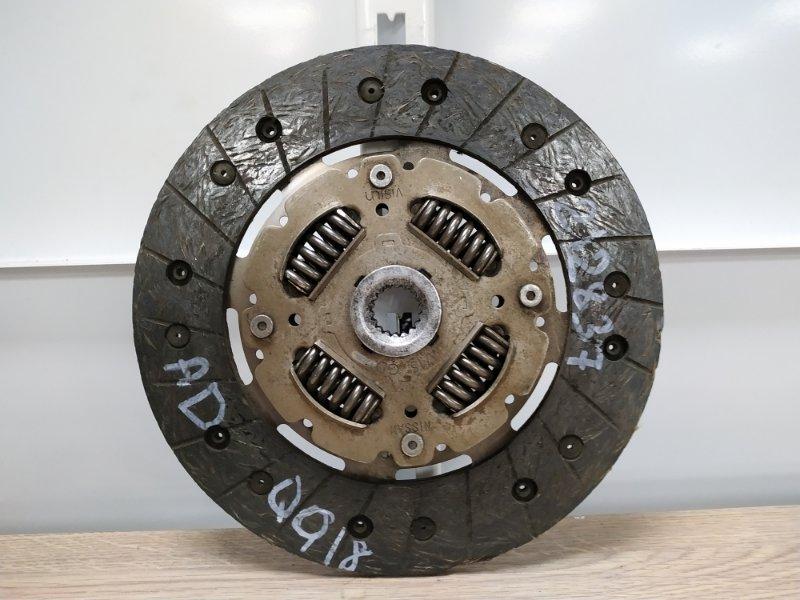 Диск сцепления Nissan Ad VHNY11 QG18DE 2000 30100-4M715