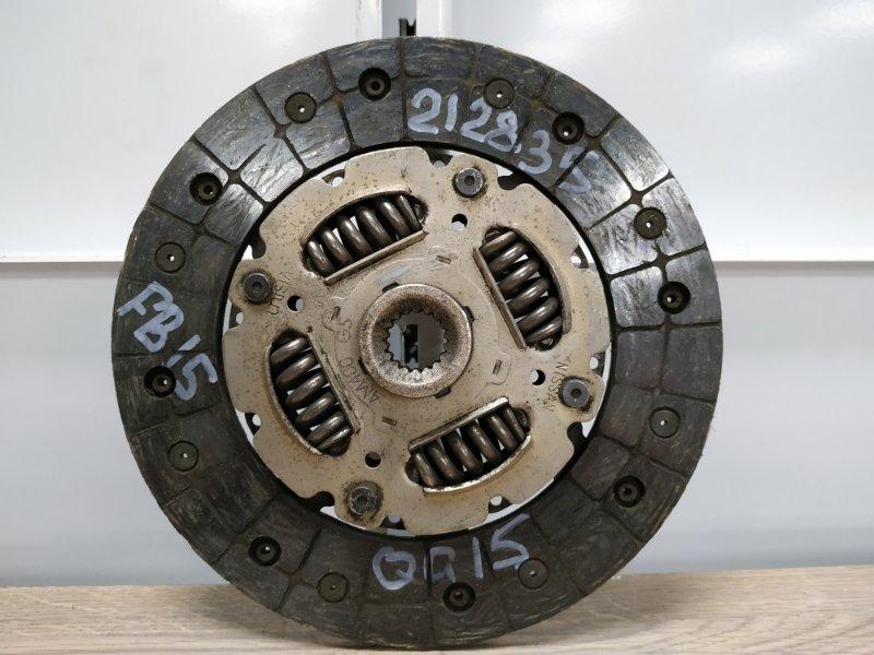 Диск сцепления Nissan Sunny FB15 QG13DE 1998 30100-4M400