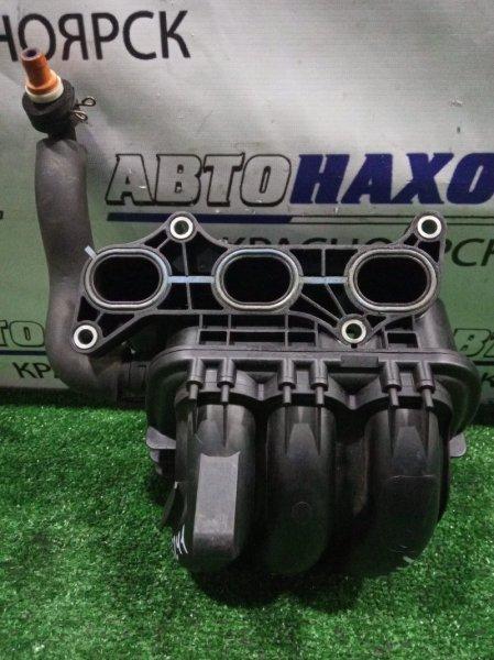 Коллектор впускной Toyota Passo KGC10 1KR-FE 17101-B1010 снят впуск пластик/свой/К61