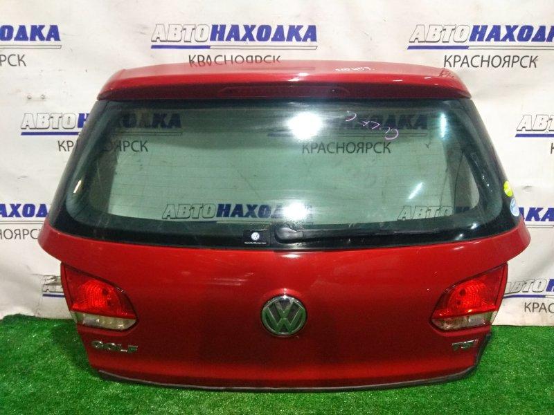 Дверь задняя Volkswagen Golf VW GOLF VI 2008 задняя GOLF 6 в сборе (хэтчбек)