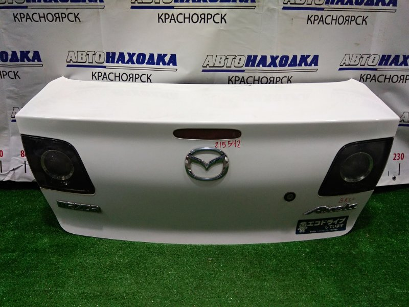 Крышка багажника Mazda Axela BK5P ZY-VE 2003 задняя В сборе.