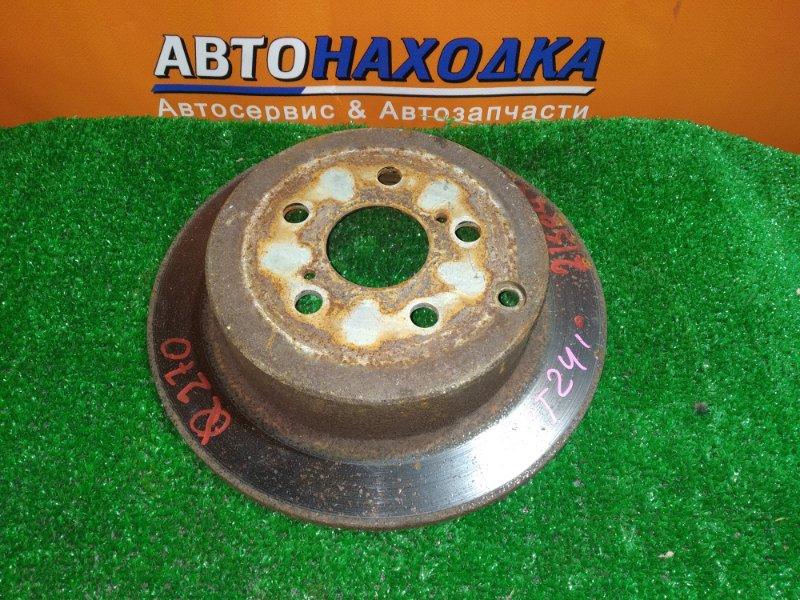 Диск тормозной Toyota Caldina AZT241 1AZ-FSE 01.2003 задний Ф269, T9, CD55, H56, 5*100, НЕ ВЕНТ, CALDINA AZT241,