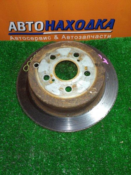 Диск тормозной Toyota Caldina AZT241 1AZ-FSE задний Ф269, T9, CD55, H56, 5*100, НЕ ВЕНТ, OPA ZCT15,