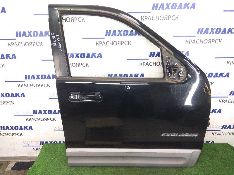 Дверь Ford Explorer UN152 COLOGNE V6 2001 передняя правая передняя правая, черная ( EBONY M6373), с ключами и
