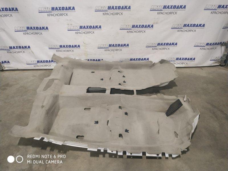 Обшивка пола Honda Legend KB1 J35A 2004 ковровое покрытие пола в салон