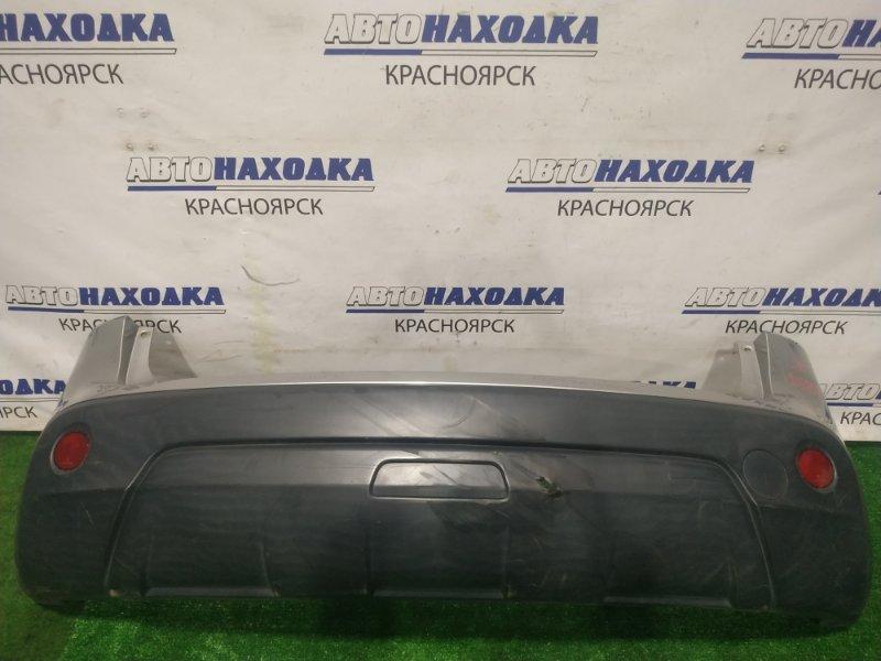 Бампер Nissan Qashqai J10 MR20DE 2006 задний задний, 1 мод. С дефектом (отверстие 1 см. *)