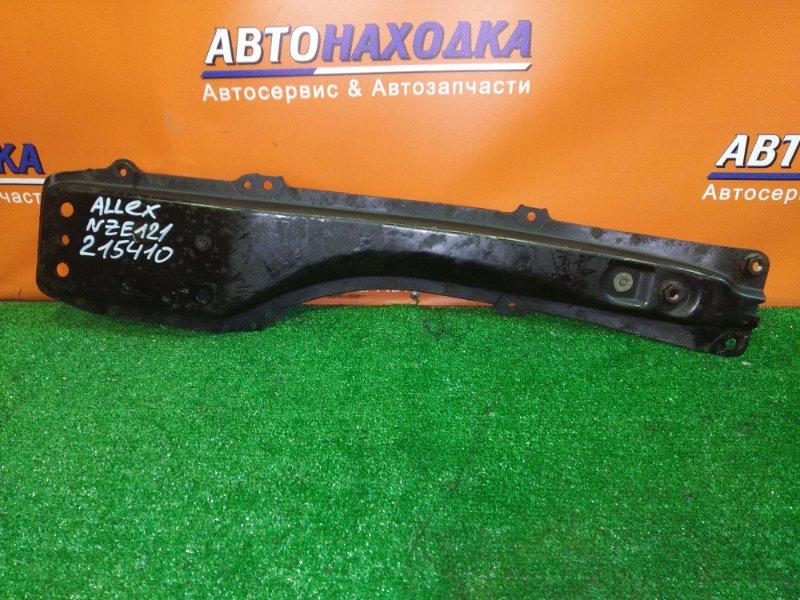 Балка продольная Toyota Allex NZE121 1NZ-FE 02.2001 ЛЫЖА
