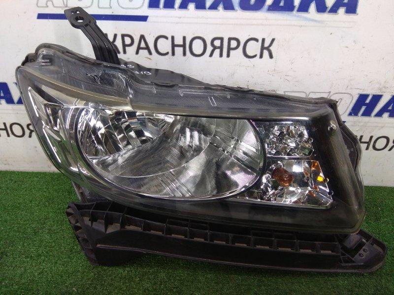 Фара Honda Freed Spike GB3 L15A 2010 передняя правая 100-22067 передняя правая, галоген, корректор, с