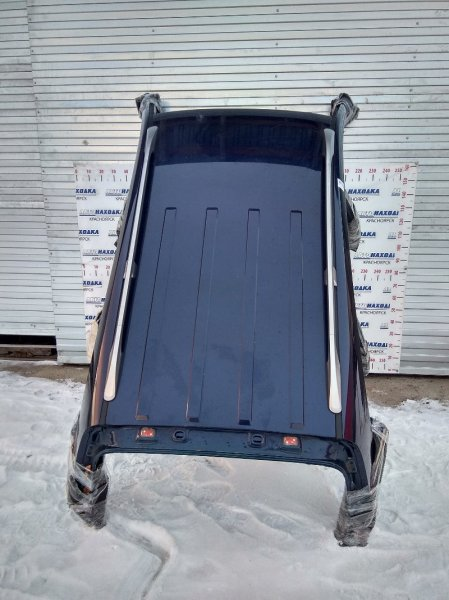 Крыша Chevrolet Captiva C140 A24XE 2011 с релингами и молдингами