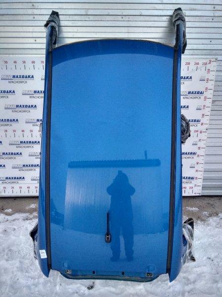 Крыша Suzuki Splash XB32S K12B 2008 с обшивкой потолка, молдингами и антенной. Есть небольшая