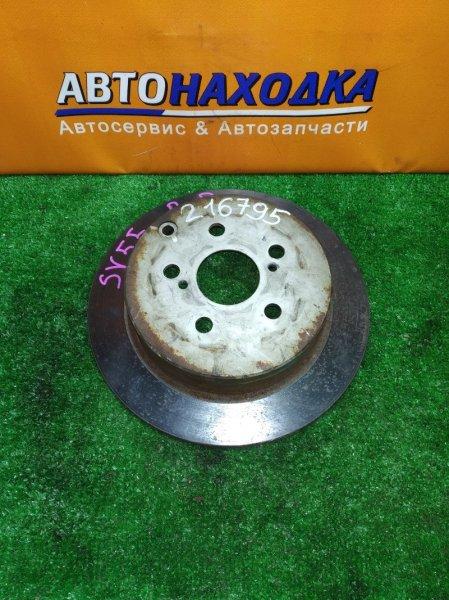 Диск тормозной Toyota Caldina AZT241 1AZ-FSE задний Ф269, T9, CD55, H56, 5*100, НЕ ВЕНТ, VISTA ARDEO SV55