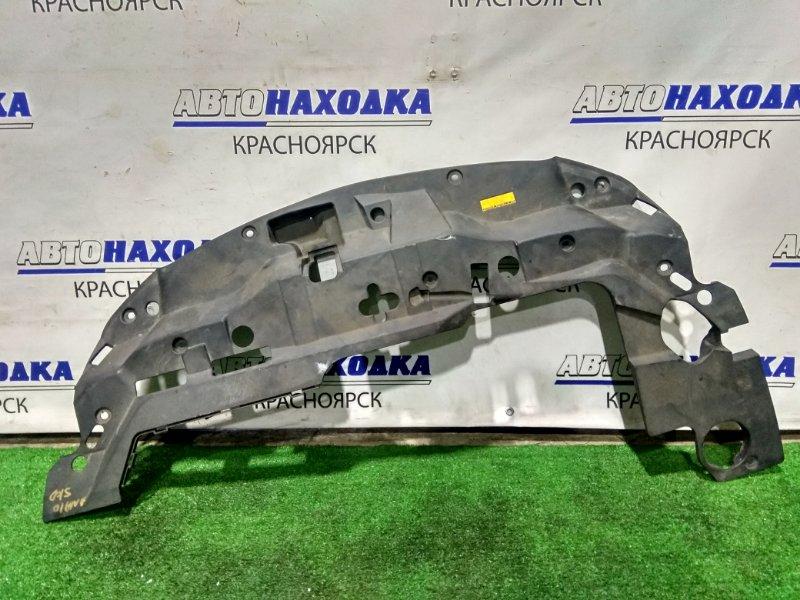 Накладка на телевизор Toyota Mark X Zio ANA10 2AZ-FE 2007 передняя верхняя 53140-72010 на верх рамки