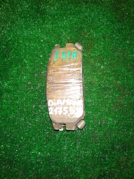 Колодки тормозные Mitsubishi Diamante F41A 6G73 03.12.1996 задние КОМПЛЕКТ, ДИСК