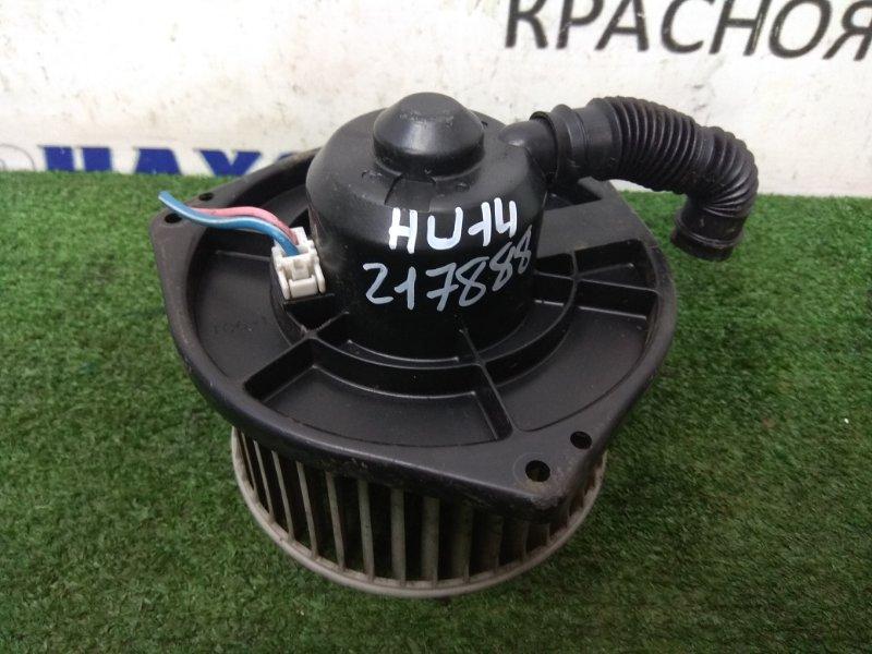 Мотор печки Nissan Bluebird EU14 SR18DE 1996 с вертикальной фишкой, незначительная деформация