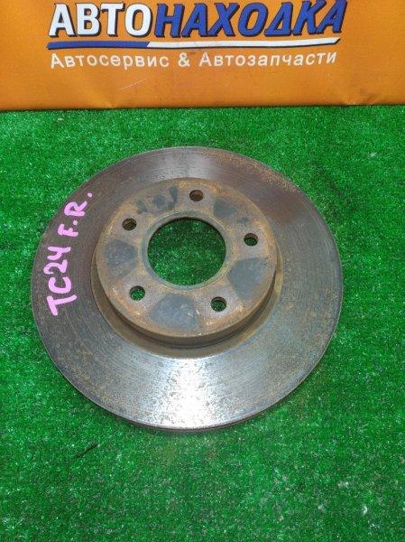 Диск тормозной Nissan Serena TC24 передний RN1584V Ф282, T28, 5*114.3, SERENA TC24,