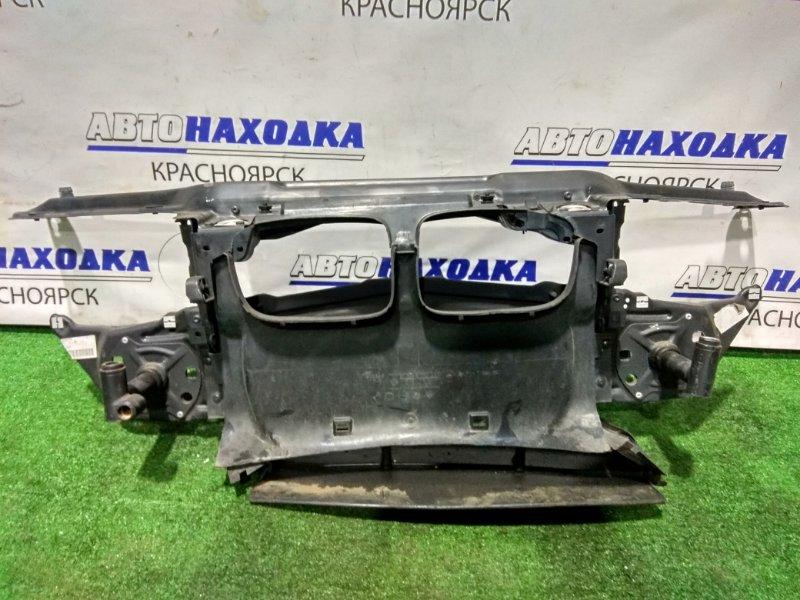 Рамка радиатора Bmw 318I E46 M43 B19 1998 с кронштейнами усилителя и замками капота
