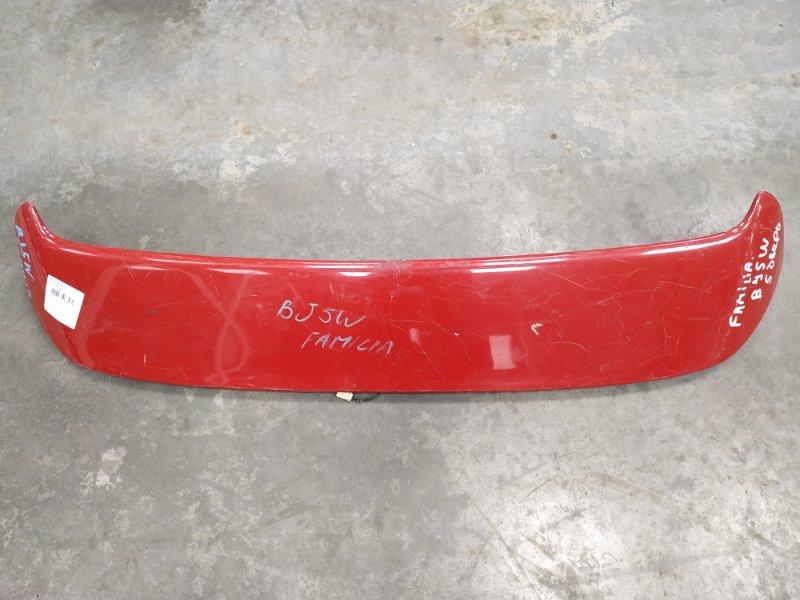 Спойлер Mazda Familia BJ5W задний верхний 0 Под полировку