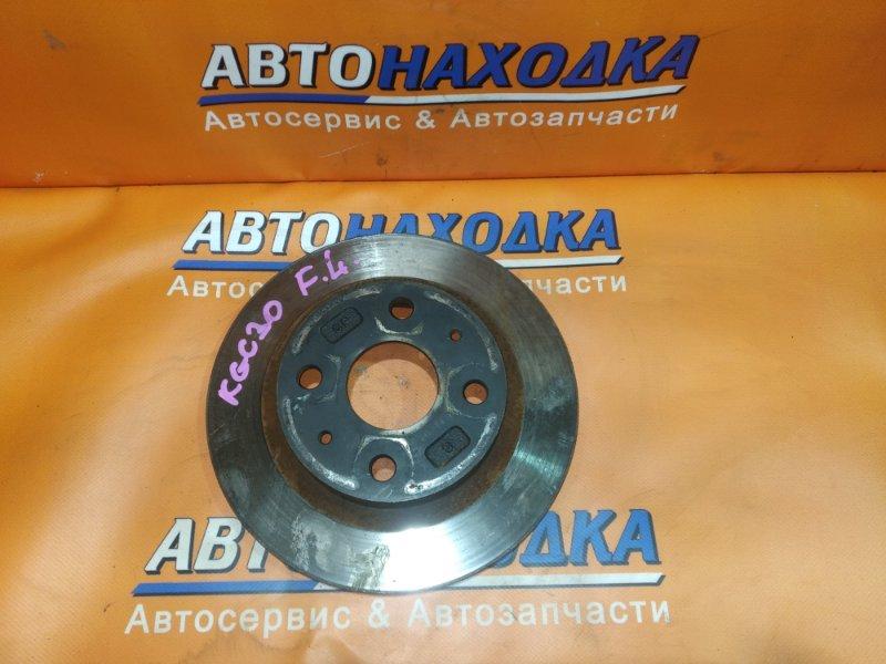 Диск тормозной Toyota Passo KGC1# 1KR-FE передний RN1481V Ф234, T16, 4 ШПИЛЬКИ, PASSO KGC30,