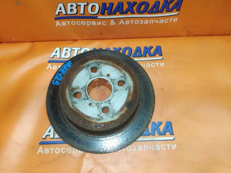 Диск тормозной Toyota Ist NCP61 1NZ-FE задний Ф268, T0.9, НЕ ВЕНТ, FIELDER ZZE123,